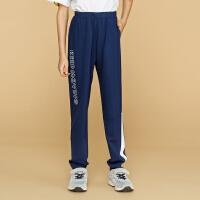 【3折价59.7】安踏童装男童针织长裤儿童运动休闲裤子35838770
