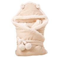 抱被春秋棉宝宝冬季婴儿包被厚保暖初生儿用品被子睡袋