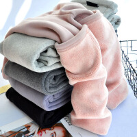 孕妇打底裤秋冬外穿保暖东北棉裤羊羔绒加绒加厚孕妇裤子秋季长裤