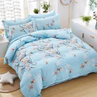大学生宿舍用的单人床被子一套装四件套三件套含被芯床单枕头全套定制