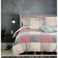 床上四件套全棉纯棉床上三件套床罩宿舍床单被套床上用品定制定做 米白色 贡绒宝