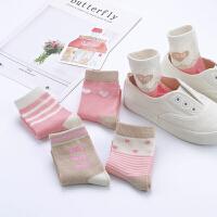 女童袜子秋冬款儿童袜3-5-7-9岁中大童春秋中筒全棉