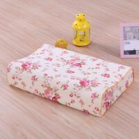 棉乳胶枕枕套 冬季儿童枕头套定做乳胶枕套60x40j