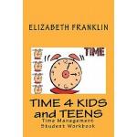 【预订】Time 4 Kids and Teens: Time Management Student Workbook