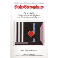 【预订】Etudes Germaniques - N4/2011: Plurimedialitat. Theater-