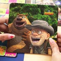 熊出没故事拼图儿童益智游戏智力开发2-3-4-6岁男孩女孩早教玩具