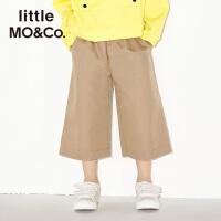 littlemoco男童装星星刺绣手插袋阔腿长裤KA171PAT102 moco