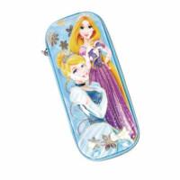 优乐9782迪士尼公主小女生笔袋 学生文具笔袋 颜色随机