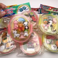 iwako 日本橡皮擦卡通橡皮动物造型橡皮擦创意可爱收纳盒橡皮擦