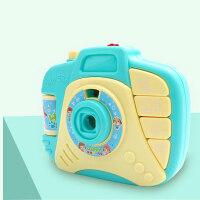 儿童智能音乐故事相机玩具1-2-3-4岁宝宝可投影相机幼儿启蒙早教 音乐故事相机 蓝色