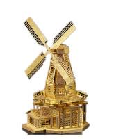 3D金属模型立体拼图拼插拼装创意玩具高难度摩天轮
