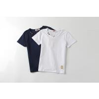 【��^59元3件】加菲��和�短袖T恤 夏季新款中大童夏�b男童短T恤GTW17209