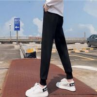 运动裤女加绒加厚外穿冬季保暖高腰小脚显瘦休闲韩版卫裤