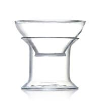 茶漏滤茶器过滤网茶道茶滤网 隔茶叶过滤器 手工耐热玻璃功夫茶具