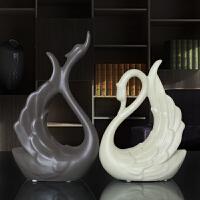 家居装饰品摆件客厅电视柜酒柜陶瓷工抽象摆设