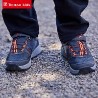 【3折价:99元】探路者儿童童鞋 秋冬户外男女童款防滑徒步鞋QFAG95058