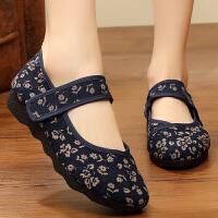 老北京布鞋女软底妈妈鞋子老太太鞋老人奶奶鞋中老年人女鞋夏季