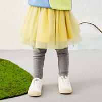 【6折价:183.06元】马拉丁童装女小童连裤腰裙春装2020年新款百搭儿童打底裙裤