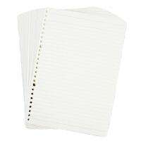 得超 活页本替芯B5 26孔(60页横线) 替换内芯 笔记本活页纸 当当自营