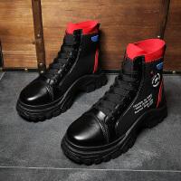 运动鞋百搭原宿高邦板鞋嘻哈潮鞋秋季男鞋韩版潮流高帮鞋男士休闲