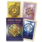 【预订】Native Heart Healing Oracle: 42 Sacred Mandalas for Rai