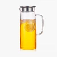 当当优品 耐热玻璃大容量冷水壶 简约冷水壶 1500ML