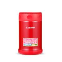 象印焖烧杯EAE50真空不锈钢大容量保温桶焖烧壶学生焖粥罐大肚杯 红色