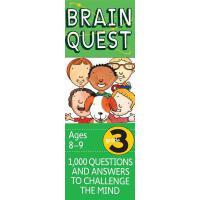 现货 英文原版 Brain Quest Grade 3 益智挑战 三年级读物
