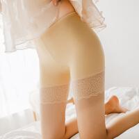 冰丝无痕防走光安全裤女夏蕾丝打底短裤五分保险裤18-24周岁学生