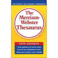 The Merriam-Webster Thesaurus韦氏同义词词典 英文原版,Merriam-Webster,M