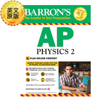英文原版 巴朗AP物理2 Barron's AP Physics 2