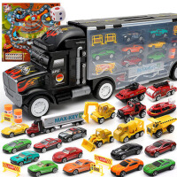 仿真儿童玩具车模型卡车小孩合金男童宝宝男孩0-1-2-3-4岁小汽车6