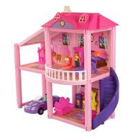 芭比娃娃的房子梦幻大别墅之梦想豪宅过家家3-10岁女孩真度假床屋套装礼盒玩具 960 别墅+芭比娃娃