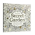正版 现货 秘密花园 涂色书 英文原版 Secret Garden 中缝可平摊