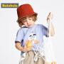 【7折价:41.93】巴拉巴拉童装男童t恤宝宝打底衫夏装新款儿童印花短袖纯棉潮