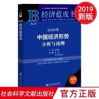 经济蓝皮书:2020年中国经济形势分析与预测 社会科学文献出版社