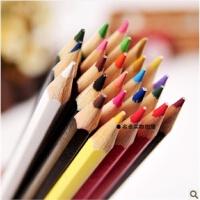真彩彩铅 水溶性彩色铅笔 彩色铅笔4586- 12 18 24 36色套