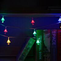 LED节日装饰蘑菇浪漫星星灯圣诞灯彩灯闪灯串灯满天星