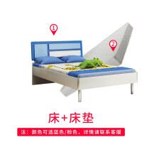 �和�床男孩女孩公主床�稳舜�1.5米小�W生�和�房家具�M合套�b�P室