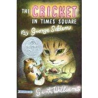 时代广场的蟋蟀 英文原版 The Cricket in Times Square 纽伯瑞 少年儿童读物 儿童文学 获奖