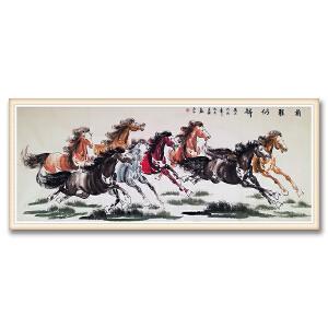 华夏文化艺术研究会会员、理事 何奕兴《前程似锦》