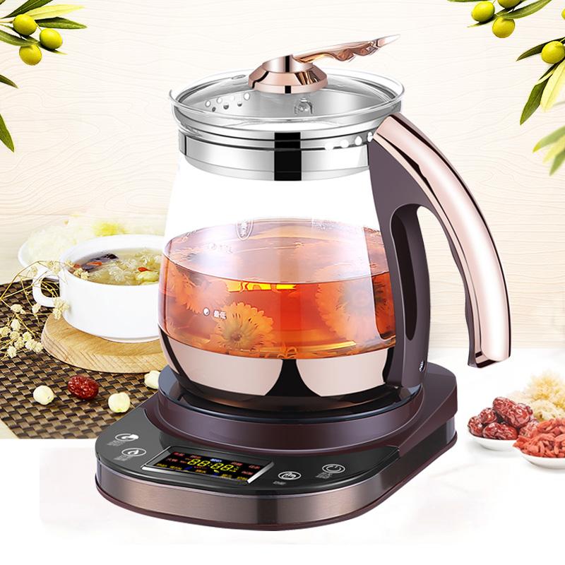 爱家乐养生壶 KK-H18/SG 多功能养生壶玻璃电热烧水壶煮茶器花茶壶