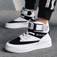 高帮板鞋男韩版潮流百搭运动休闲鞋2018新款男鞋冬季潮鞋嘻哈鞋子