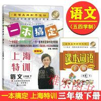 部编版五四学制上海特训一本搞定 语文 3年级下册/三年级第二学期