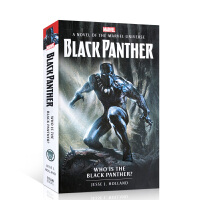 漫威小说:黑豹是谁?英文原版 Marvel novels - Who is the Black Panther? 进口