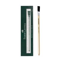 德国Faber-castell辉柏嘉橡皮笔 7058-B铅笔形橡皮 打字橡皮笔擦墨水油墨圆珠笔电路板