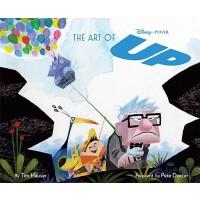 现货 英文原版 The Art of Up 飞屋环游记艺术设定画集