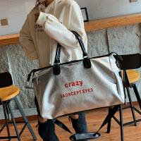 大容量女包ins新款包包韩版时尚旅行包手提单肩行李包潮包袋