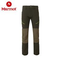 Marmot/土拨鼠秋冬户外男式防泼水耐磨透气M3软壳长裤
