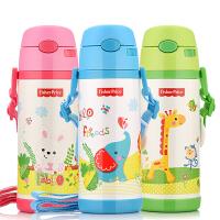 儿童保温杯男不锈钢杯子带吸管宝宝水壶便携女学生水杯保温瓶